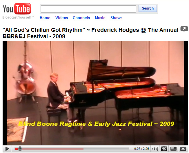 Frederick Hodges plays All Gods                     Chilun Got Rhythm