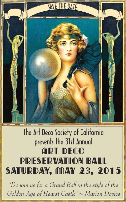 Art Deco Preservation Ball 2015