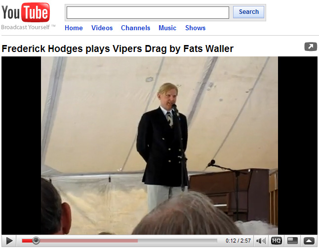 Frederick Hodges play The Vipers                   Drag